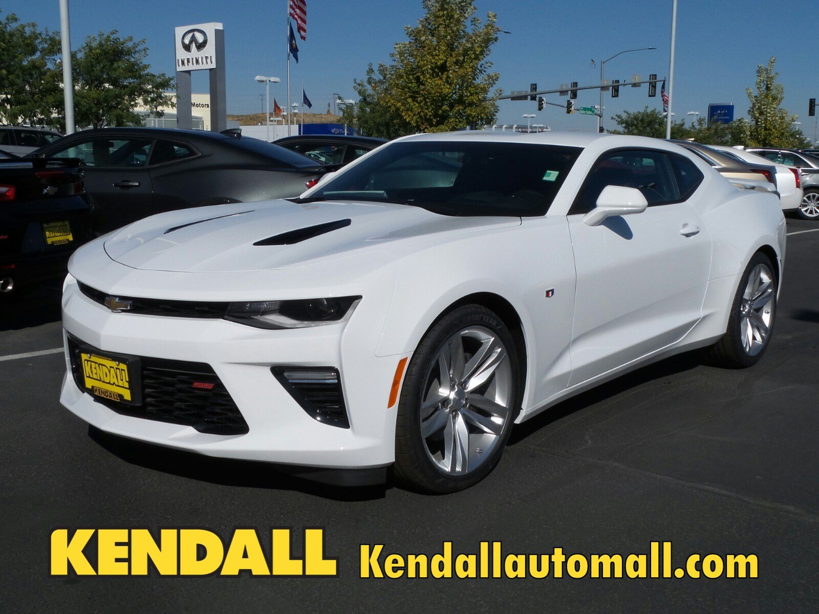 New 2018 Chevrolet Camaro Ss In Nampa D180026 Kendall At The Idaho Center Auto Mall