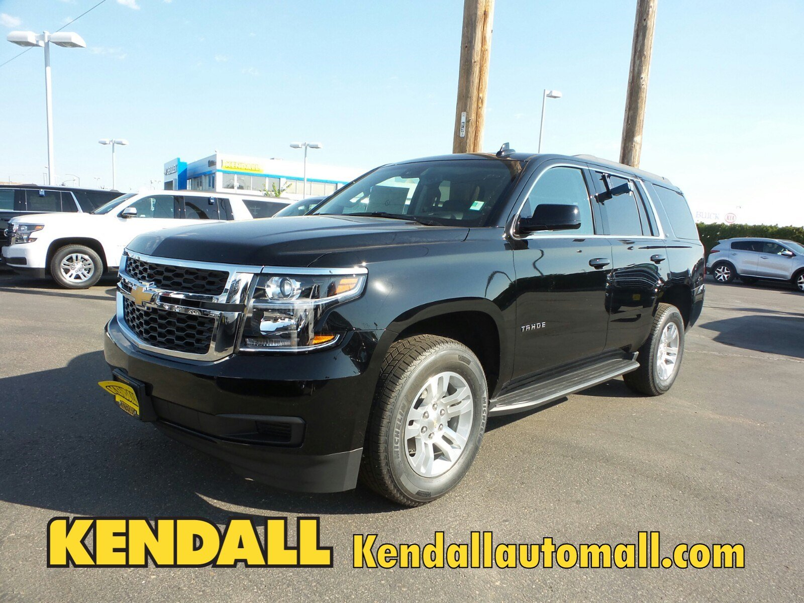 Lease a new 2017 chevrolet tahoe lt