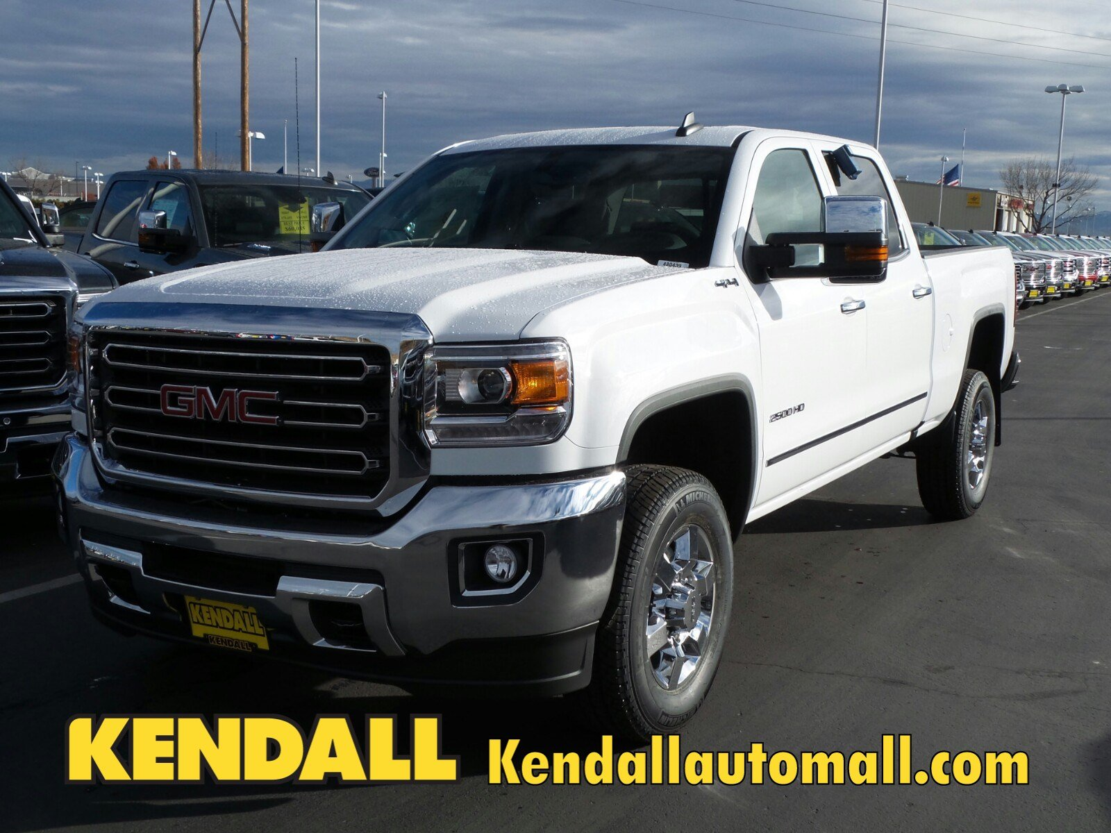 new 2018 gmc sierra 2500hd slt 4wd in nampa 480439 kendall at the idaho center auto mall. Black Bedroom Furniture Sets. Home Design Ideas