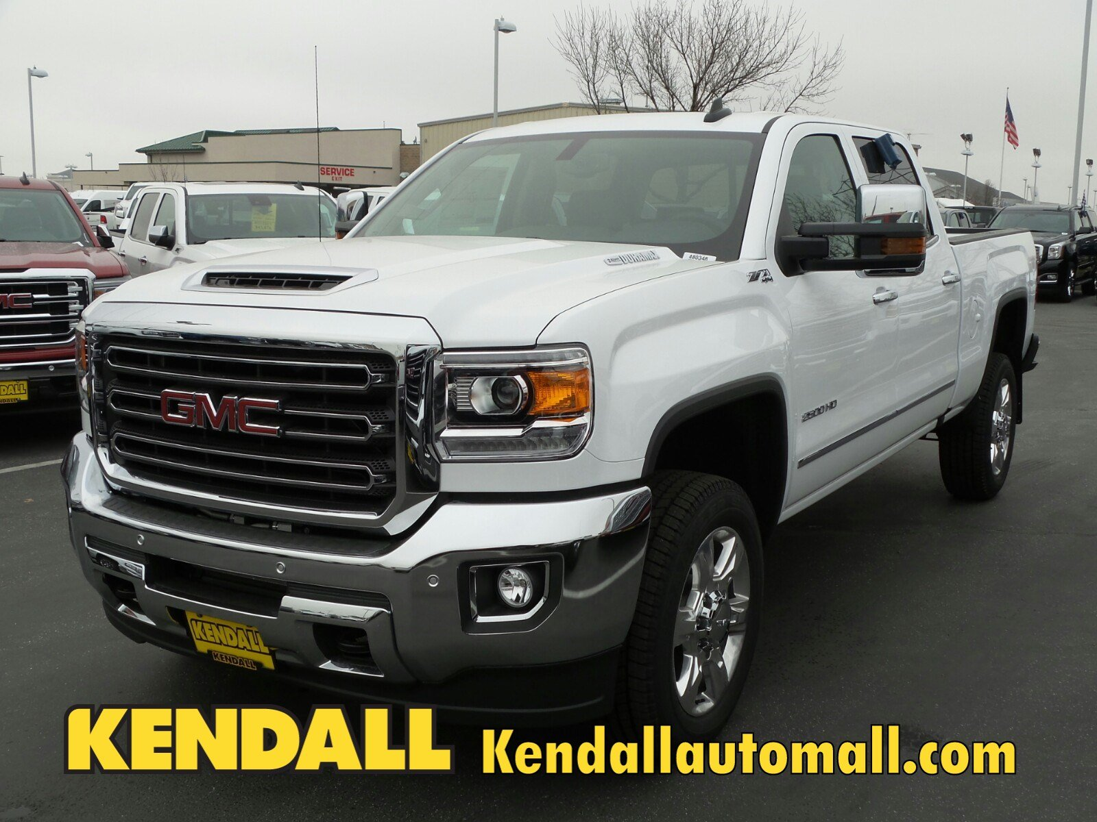 Kendall Auto Mall >> New 2018 GMC Sierra 2500HD SLT 4WD in Nampa #D480348 | Kendall at the Idaho Center Auto Mall