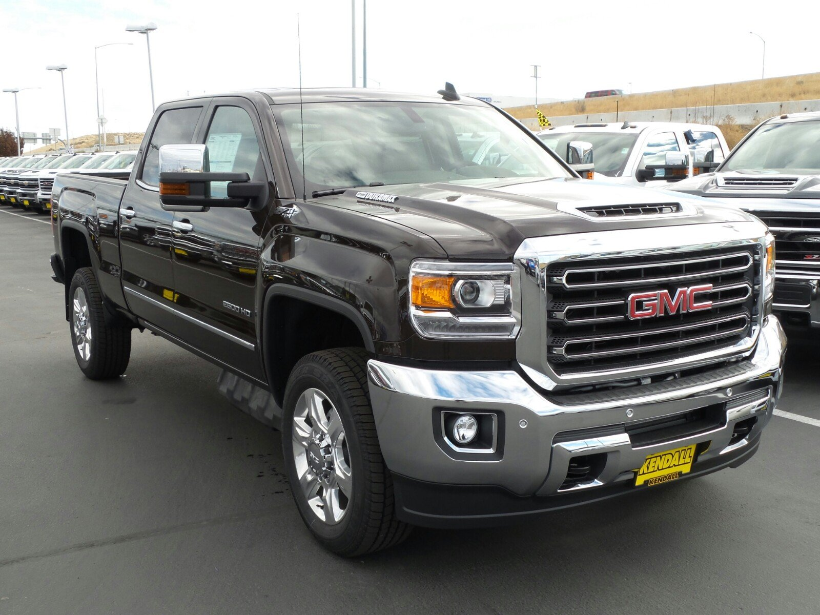 New 2018 Gmc Sierra 2500hd Slt 4wd In Nampa D480281 Kendall At