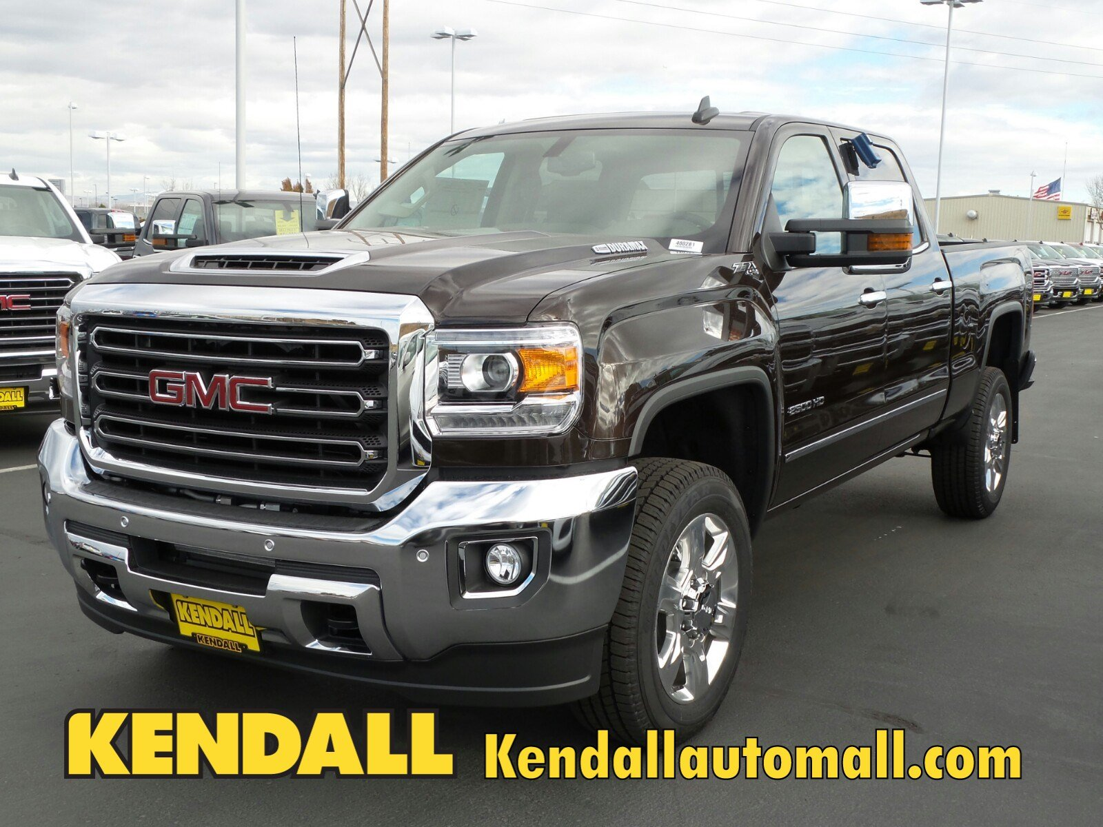 New 2018 GMC Sierra 2500HD SLT 4WD in Nampa D