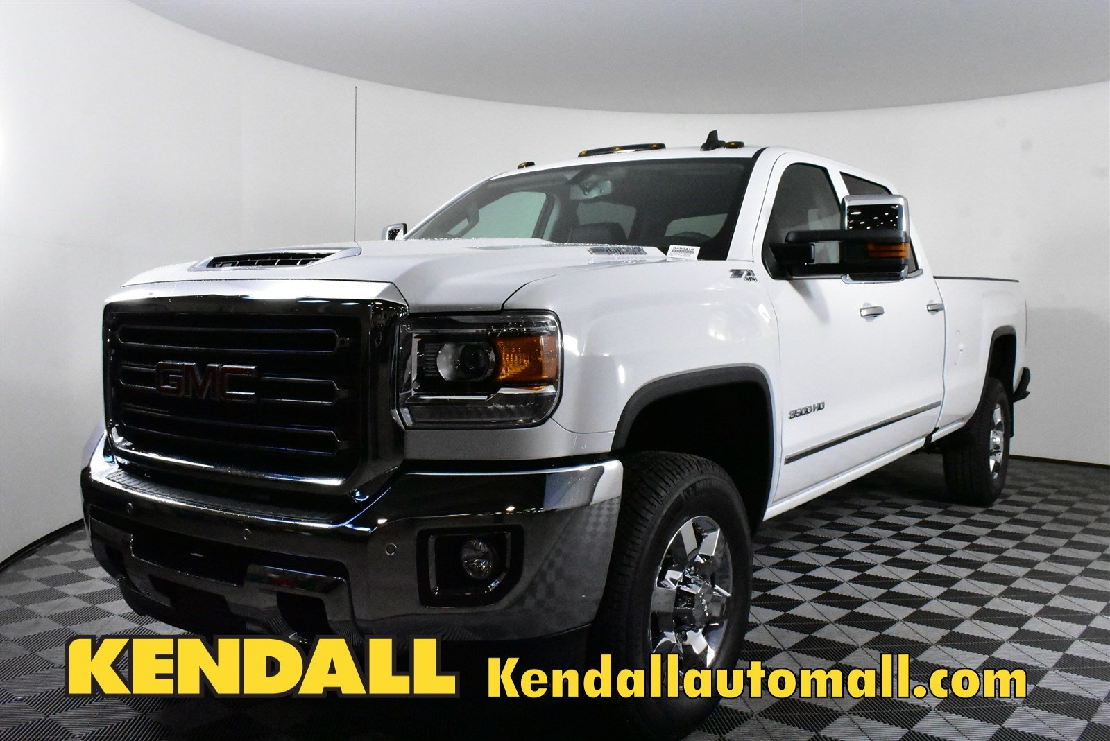New 2019 GMC Sierra 3500HD SLT 4WD