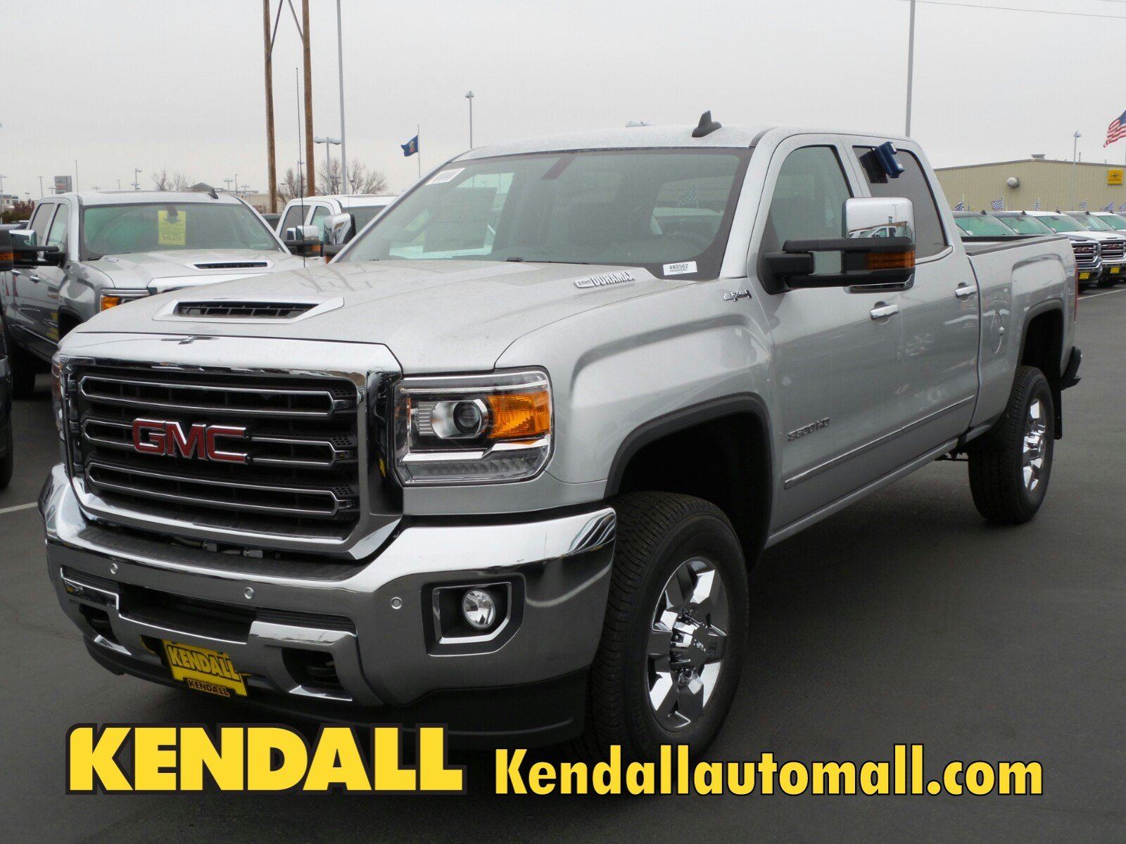 Denali Dually For Sale >> New 2018 GMC Sierra 3500HD SLT 4WD in Nampa #D480562 | Kendall at the Idaho Center Auto Mall