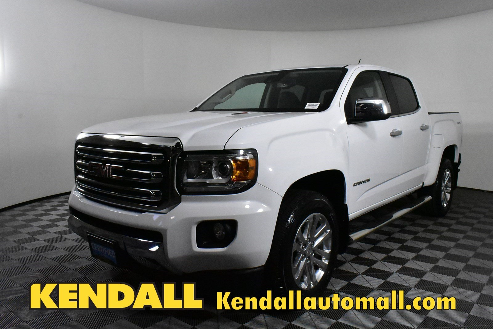 Certified Pre Owned 2016 Gmc Canyon 4wd Slt In Nampa D490610a Kendall At The Idaho Center Auto Mall