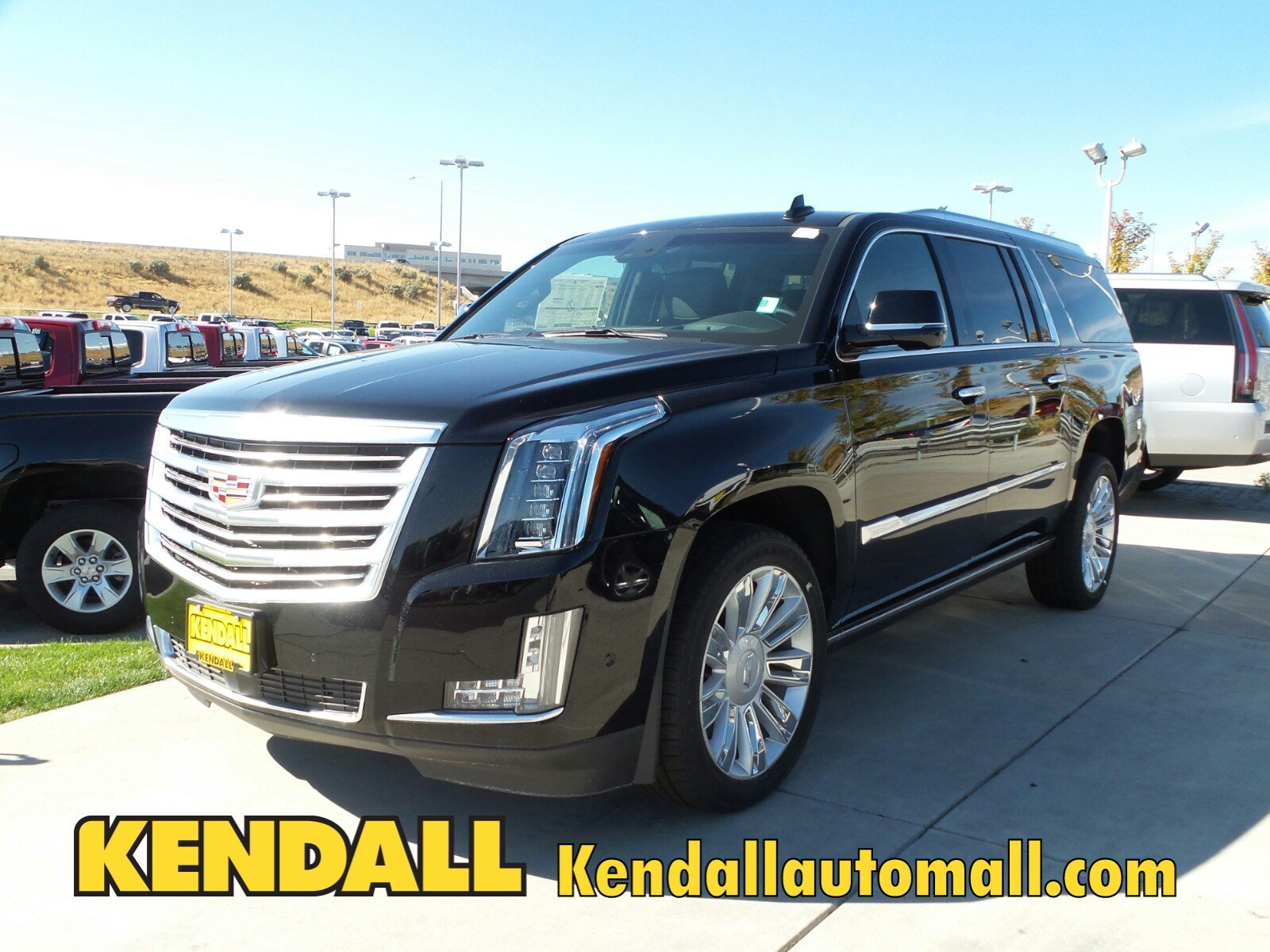 new 2017 cadillac escalade esv platinum 4wd in nampa 37072 kendall at the idaho center auto mall. Black Bedroom Furniture Sets. Home Design Ideas