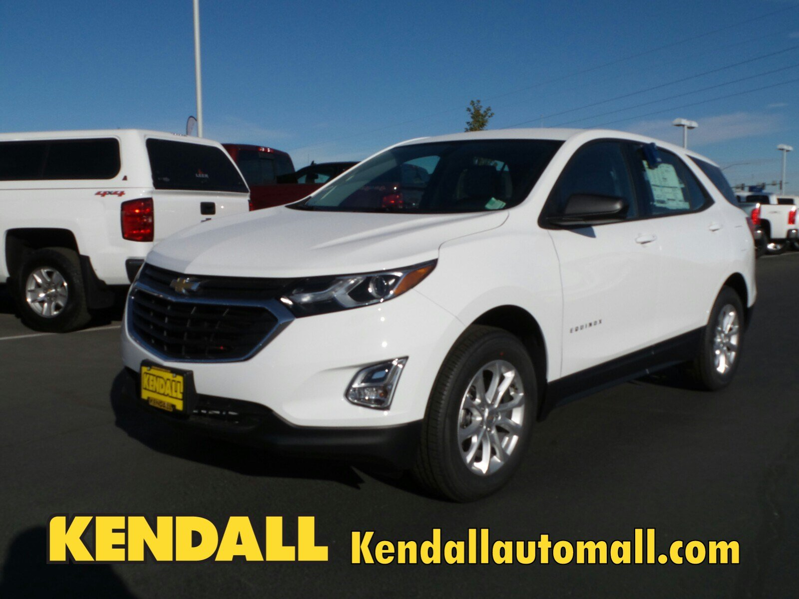 Lease a New 2018 Chevrolet Equinox AWD LS