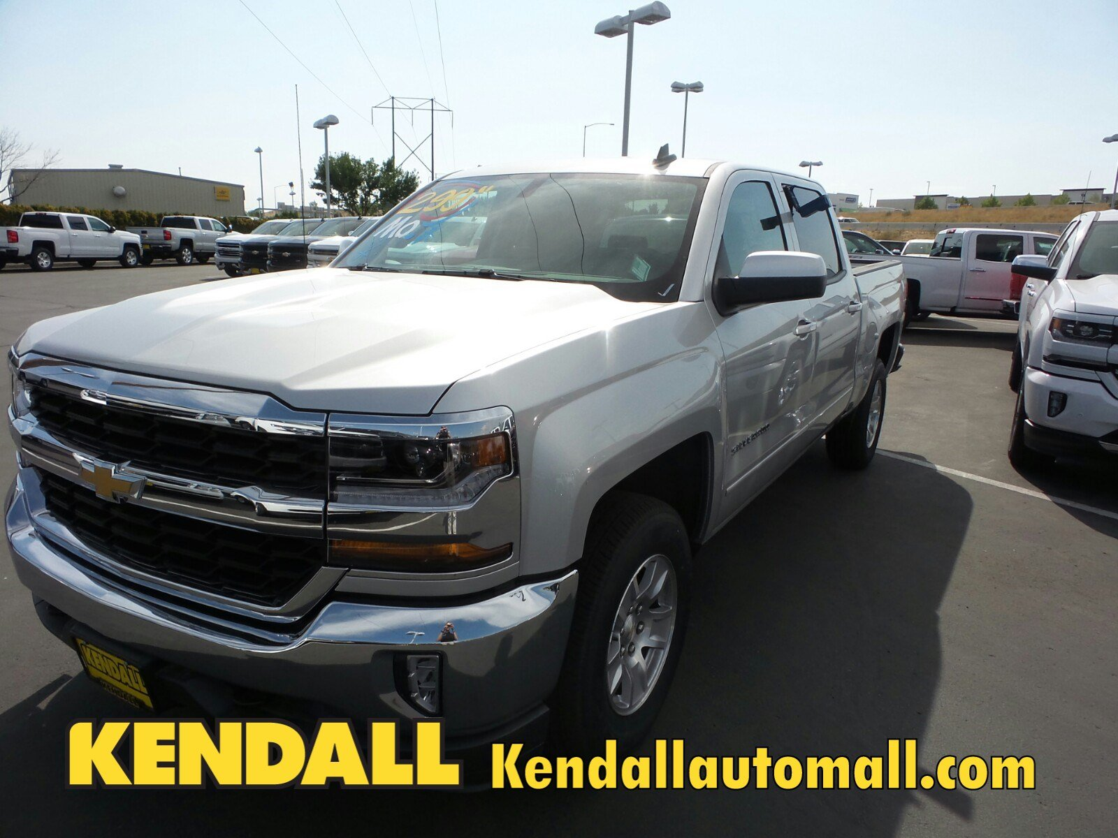 Lease a New 2017 Chevrolet Silverado Crew 1500 LT