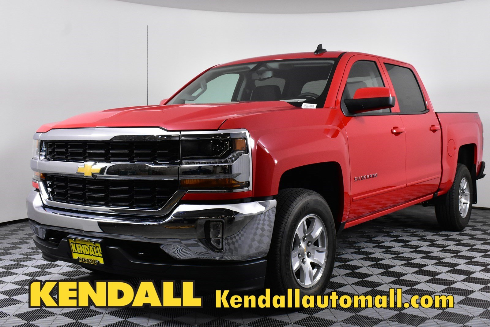 Lease a New 2018 Chevrolet Silverado 1500 Crew LT