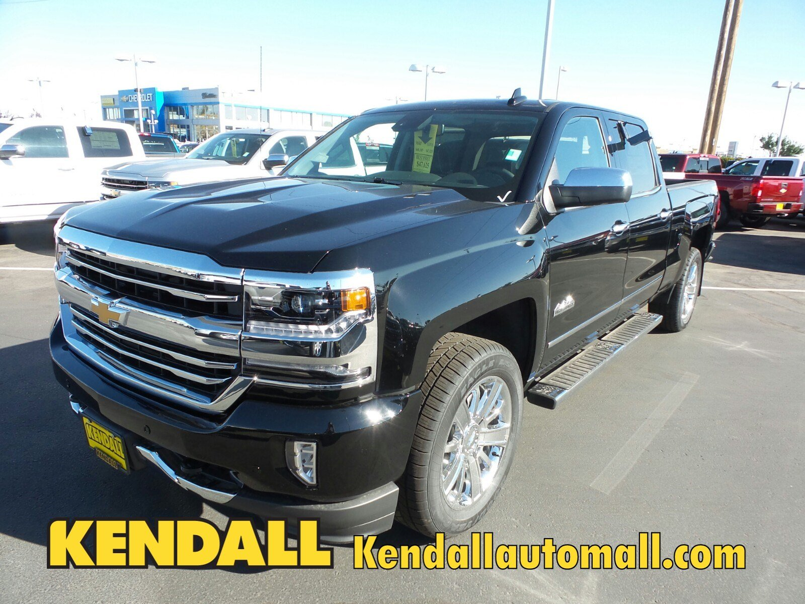 new 2017 chevrolet silverado 1500 high country 4wd in nampa 171368 kendall at the idaho. Black Bedroom Furniture Sets. Home Design Ideas