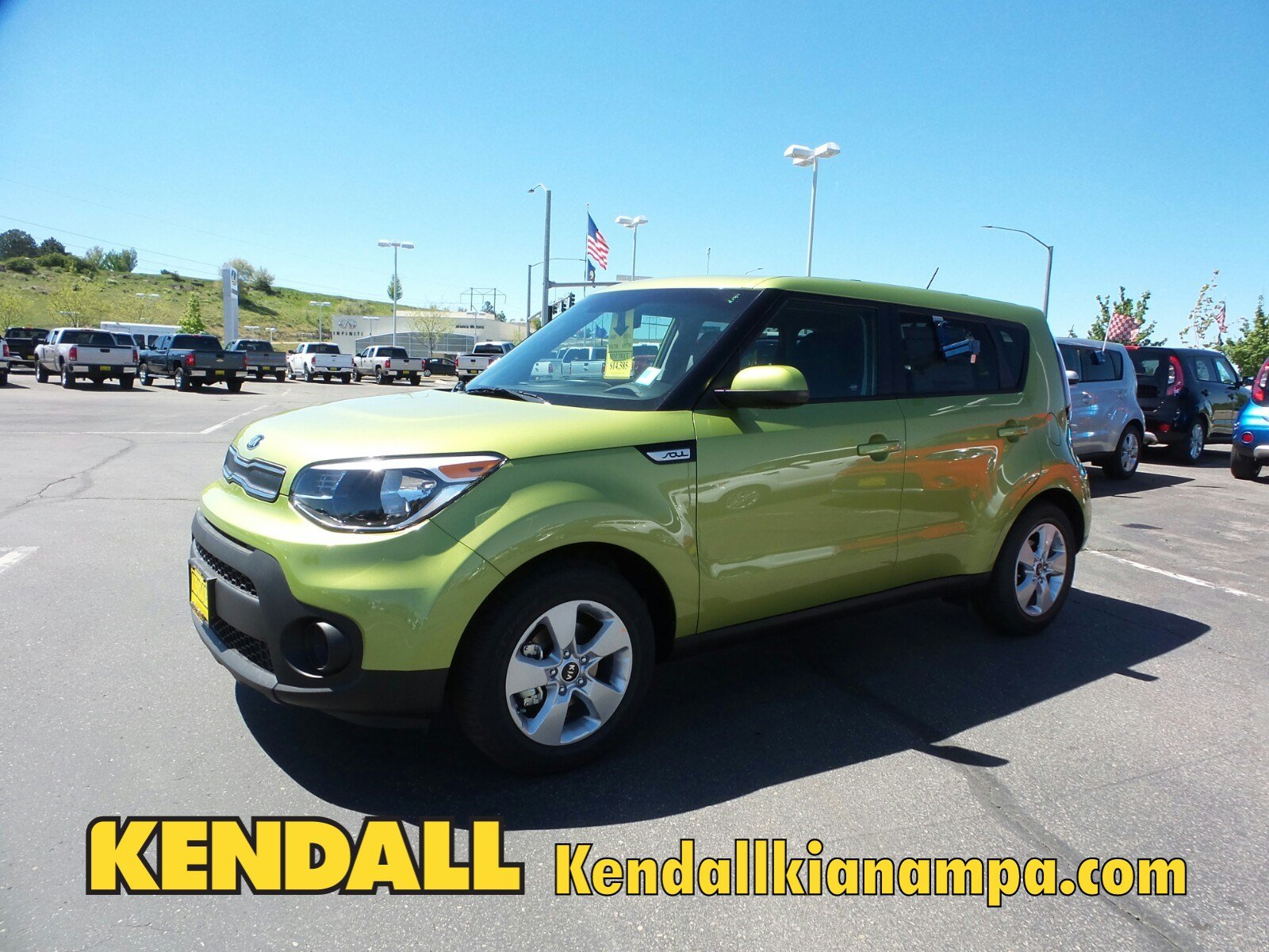 Lease a New 2017 KIA Soul Base Automatic