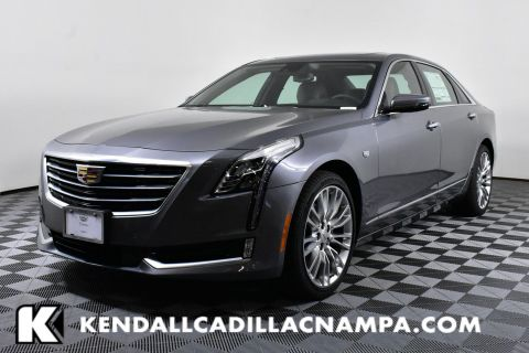 New 2018 Cadillac CT6 Sedan Premium Luxury AWD