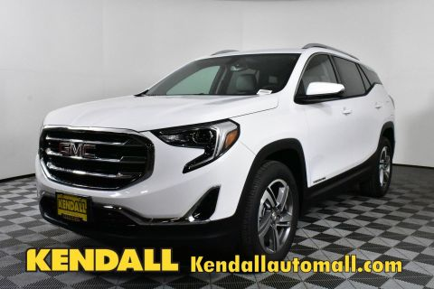 New 2019 GMC Terrain SLT AWD